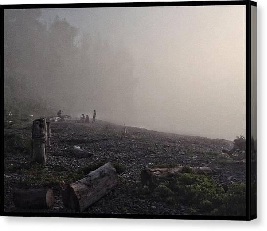 Beach Mist  Canvas Print