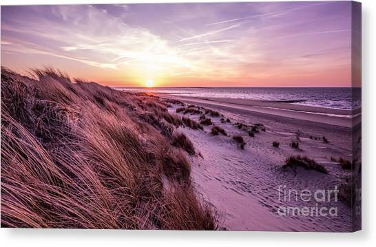 Beach Of Renesse Canvas Print