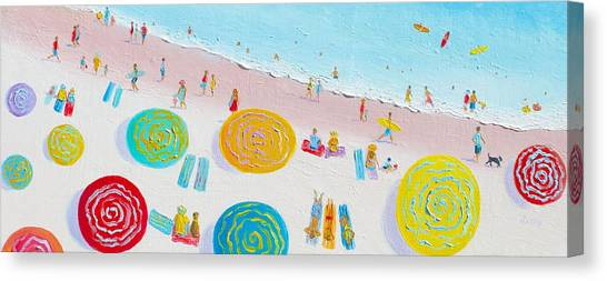 Beach Painting - The Simple Life Canvas Print