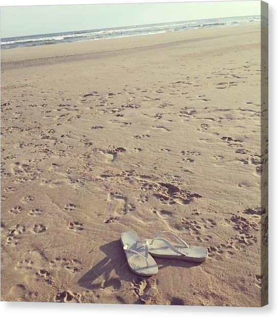 Portal Canvas Print - #beach #playa #uruguay #atlantida #life by Fernando Portal