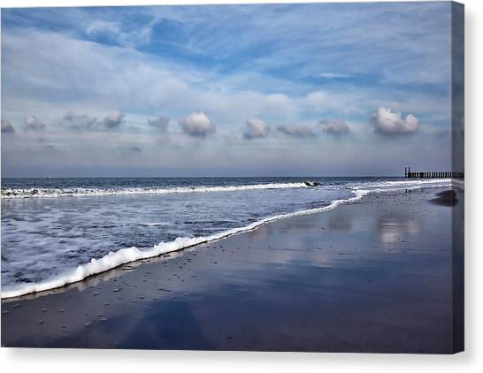 Beach Reflections Canvas Print