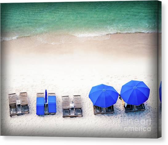 Beach Relax Canvas Print