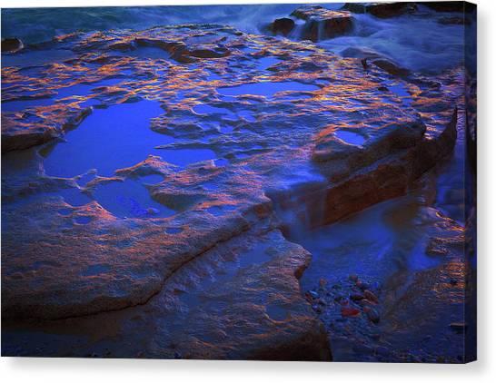 Beach Rock 3 Canvas Print
