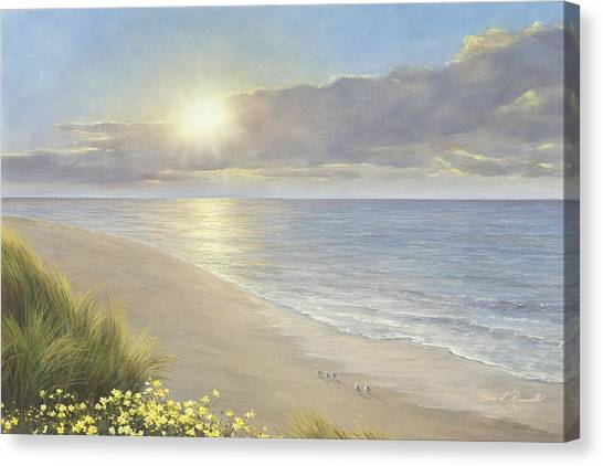Beach Serenity Canvas Print