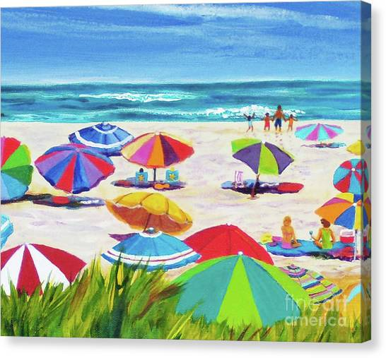 Umbrellas 2 Canvas Print