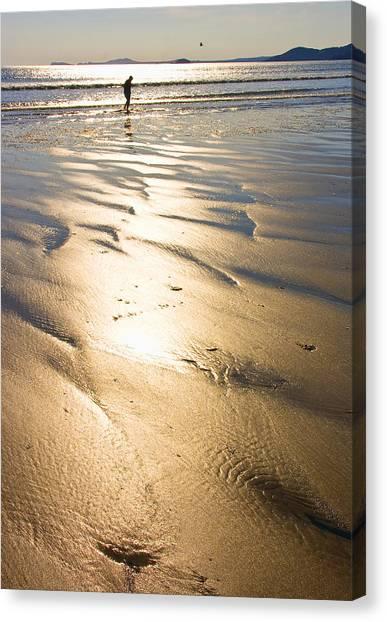 It Professional Canvas Print - Beachcomber by Aleck Rich Seddon