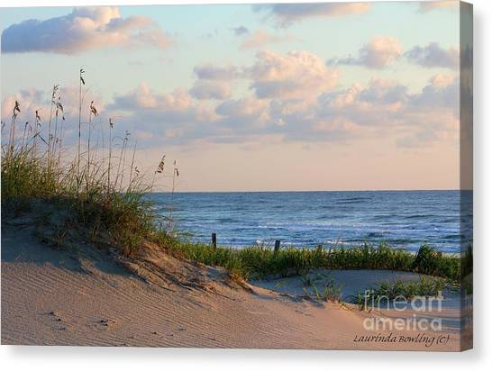 Beaches Of Outer Banks Nc Canvas Print