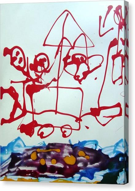 Beachside Canvas Print by Nanak Chadha
