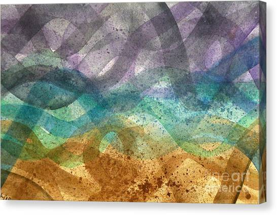 Beachy Canvas Print