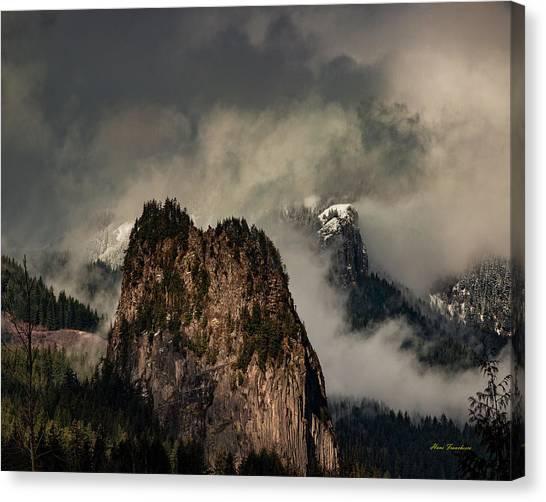 Beacon Rock Canvas Print