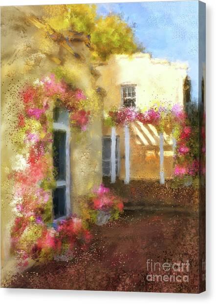 Bricks Canvas Print - Beallair In Bloom by Lois Bryan
