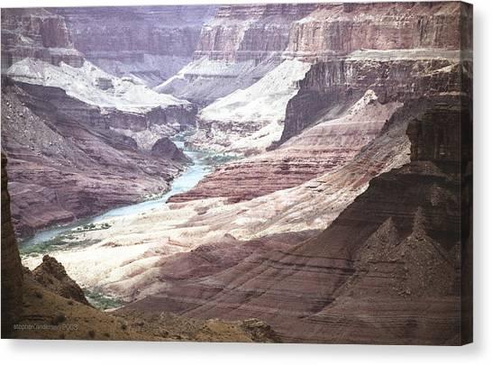 Beamer Trail Grand Canyon Canvas Print