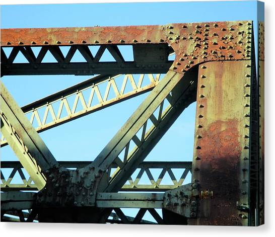 Beams And Bolts Canvas Print