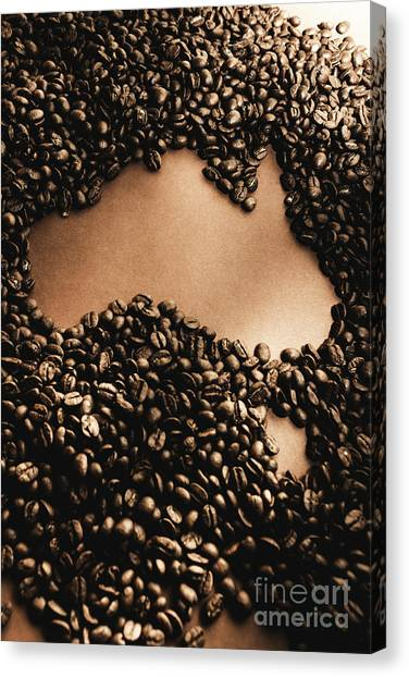 Caffeine Canvas Print - Bean To Australia by Jorgo Photography - Wall Art Gallery
