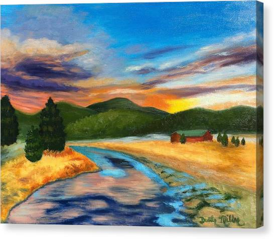 Bear Creek Colorado Canvas Print