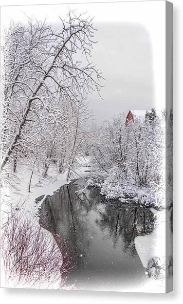 Silver Creek Canvas Print