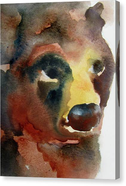 Bear Canvas Print by James Huntley