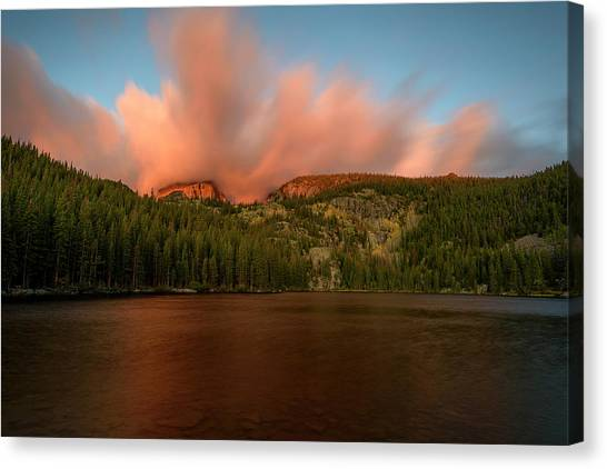 Bear Lake's Hallett Peak #1 Canvas Print