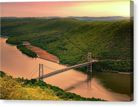 Bear Mountain Bridge Canvas Print