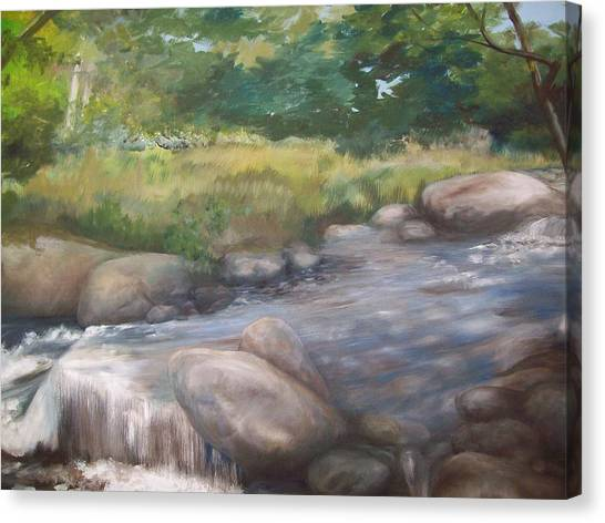 Bear River Canvas Print