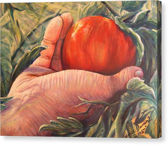 Bearing Good Fruit Canvas Print by Renee Dumont  Museum Quality Oil Paintings  Dumont