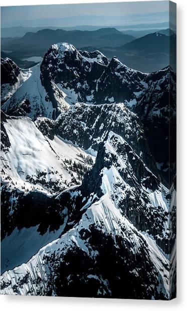 Beartooth Mountain Bc Canvas Print