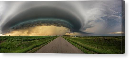 Canvas Print featuring the photograph Beast by Aaron J Groen