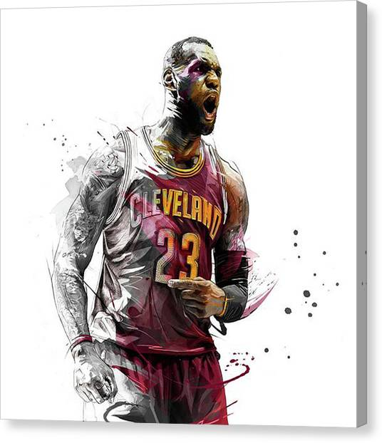 Stephen Curry Canvas Print - Beastmode by Jeric Barnutz