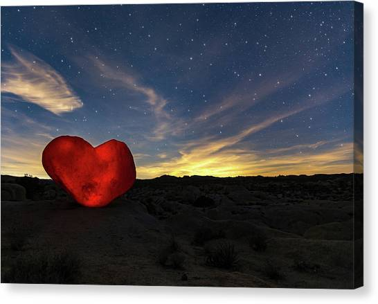 Canvas Print featuring the photograph Beating Heart by Tassanee Angiolillo