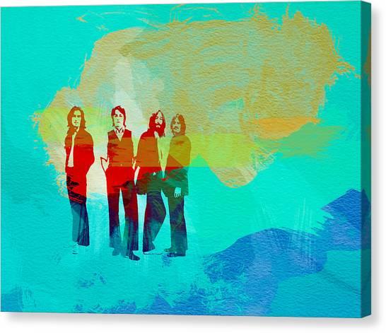 John Lennon Canvas Print - Beatles by Naxart Studio