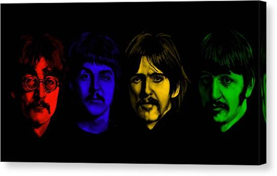 Ringo Starr Canvas Print - Beatles No 9 by Brian Broadway