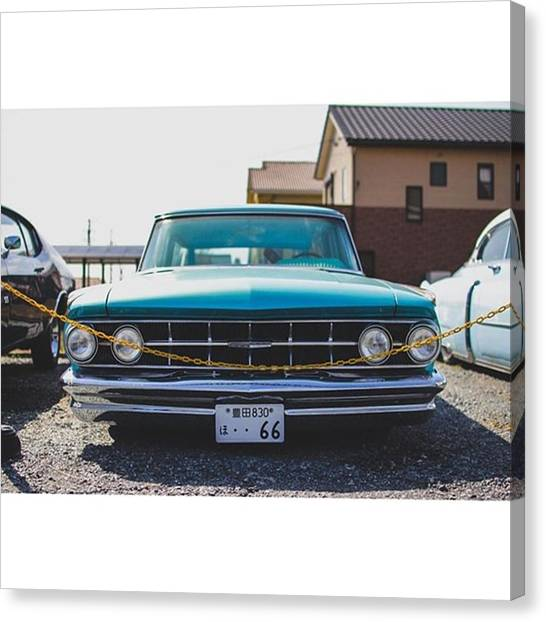 Mercury Canvas Print - Beautiful '63 Mercury Monterey Colony by Takahiro Kojima
