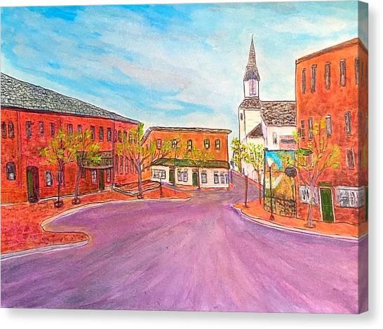 Beautiful Amesbury Canvas Print