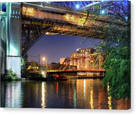 Beautiful Bridges Canvas Print