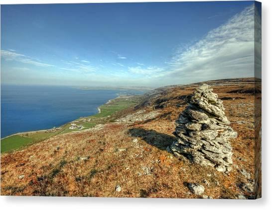 Beautiful Burren View Canvas Print by John Quinn