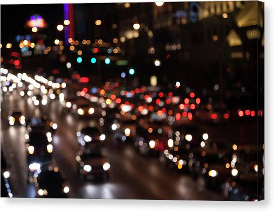 Beautiful Congestion Canvas Print