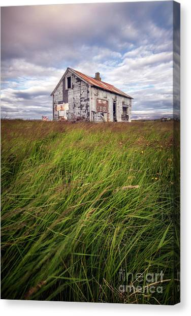 Derelict Canvas Print - Beautiful Disaster by Evelina Kremsdorf