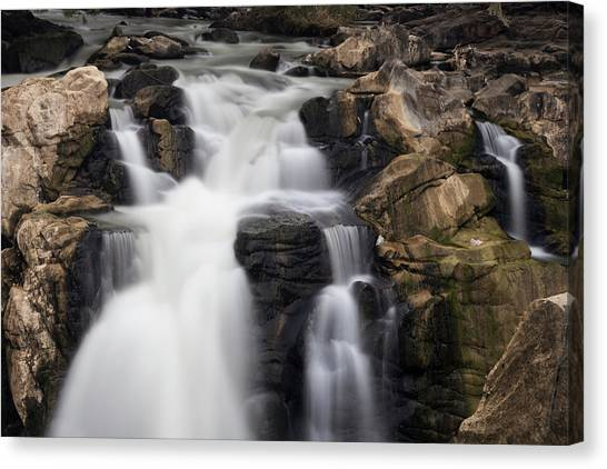 Beautiful Falls Canvas Print