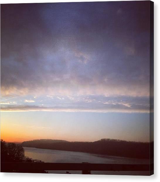 Lake Sunrises Canvas Print - Beautiful by Lacey Newman