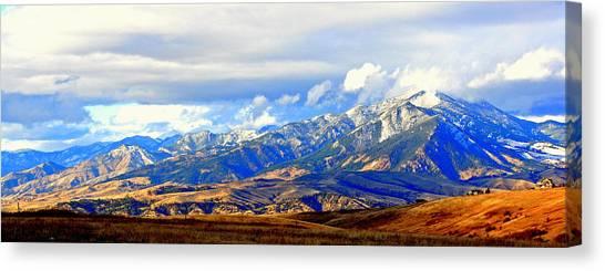 Beautiful Montana Canvas Print