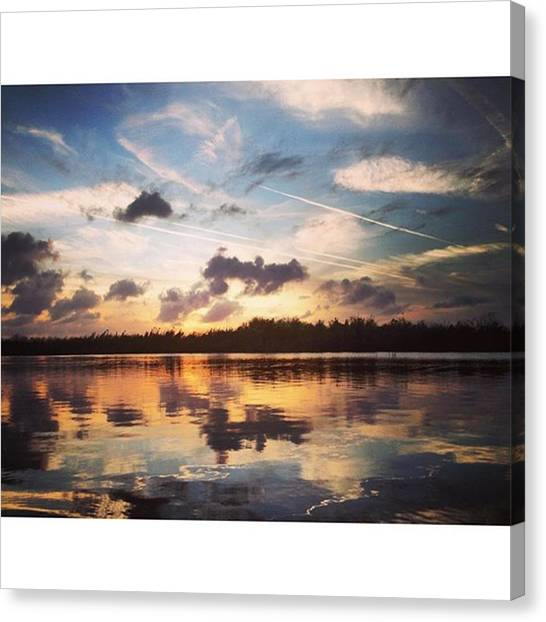 Everglades Canvas Print - Beautiful Night! #bliss #broward by Erin Ryan