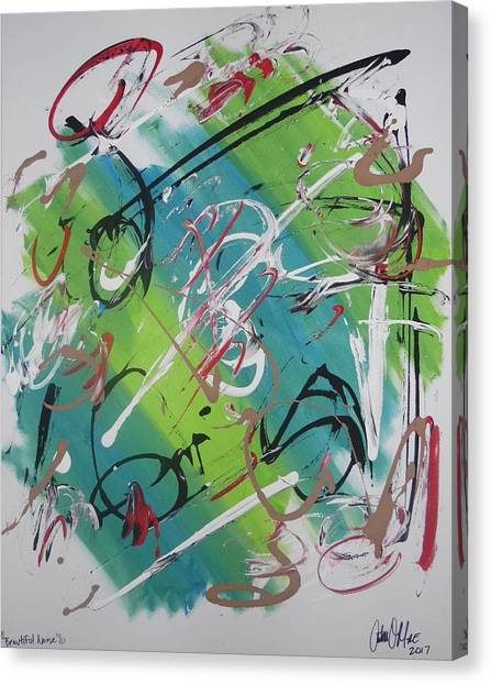 Beautiful Noise Canvas Print