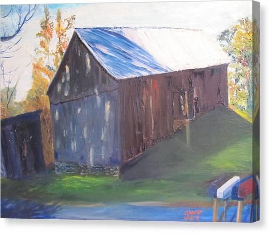 Beautiful Old Barn Canvas Print by Gloria Condon