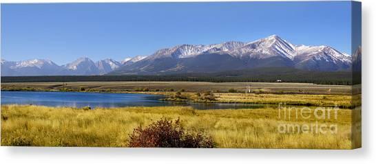 Beautiful Panoramic Landscapes Canvas Print