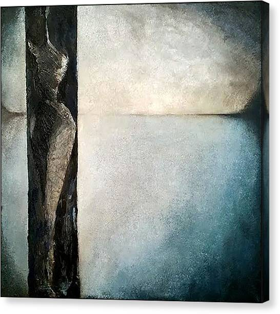 Canvas Print featuring the painting Beautiful Secrets by James Lanigan Thompson MFA