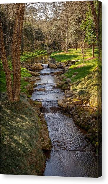 Beautiful Stream Canvas Print
