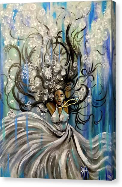 Canvas Print - Beautiful Struggle by Artist RiA