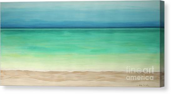 Beautiful Waters Canvas Print