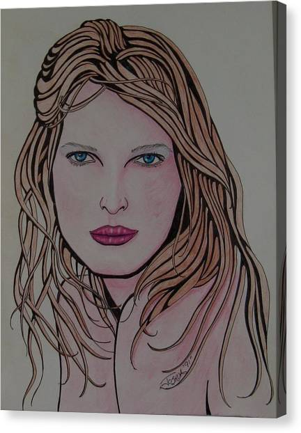 Beauty 1 Canvas Print by Joshua Armstrong