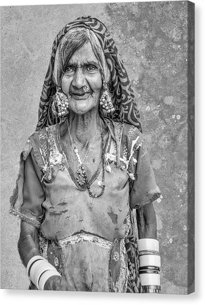 Beauty Before Age. Canvas Print